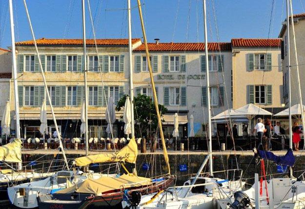 hotel du port saint martin de r destination ile de r. Black Bedroom Furniture Sets. Home Design Ideas