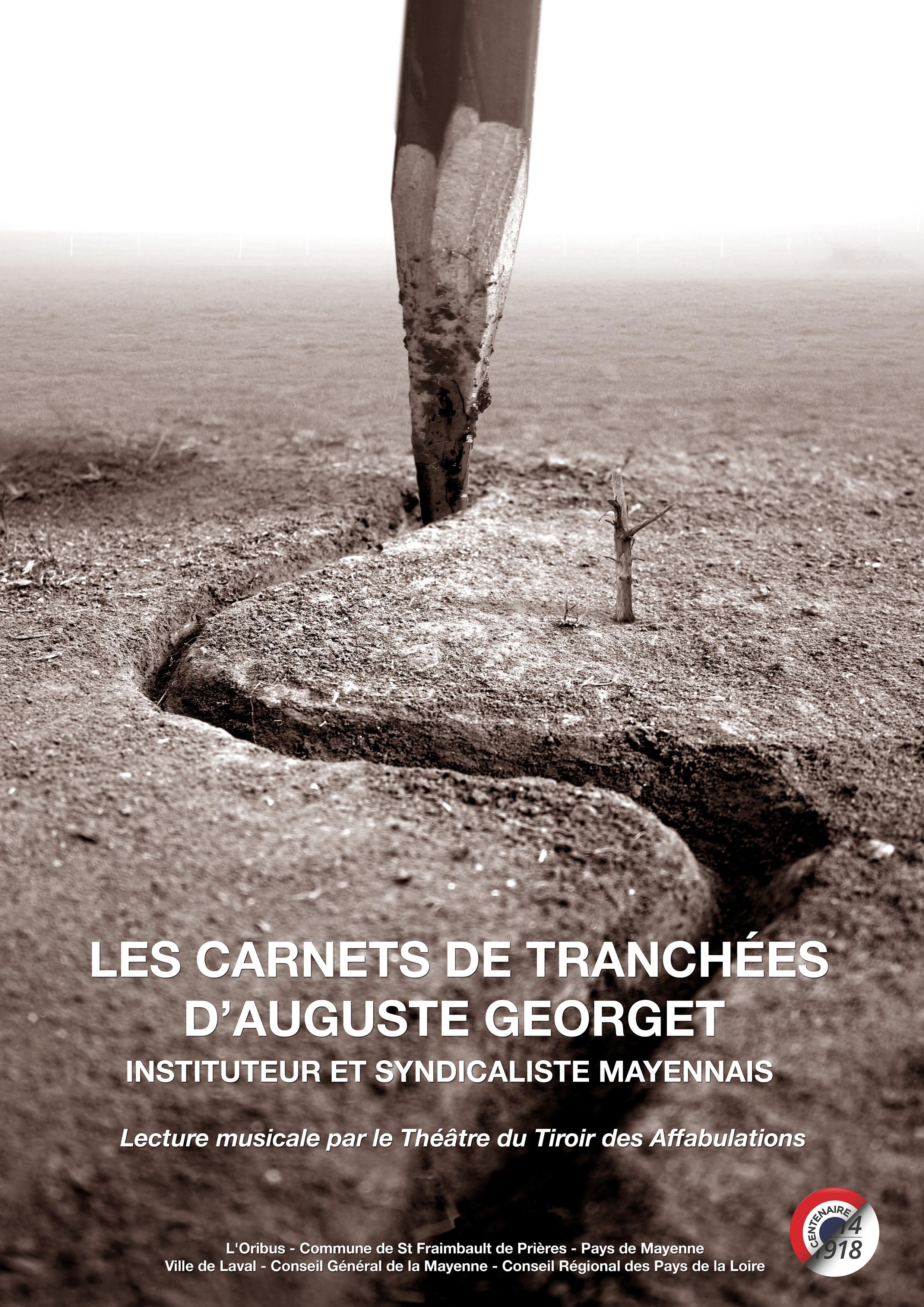 Carnets de Tranchées # Compagnie Théâtre du Tiroir