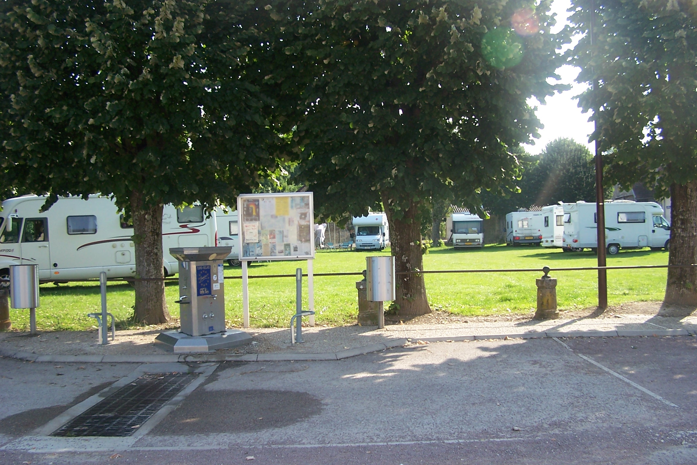 Aire Camping Car Lac Foret D Orient