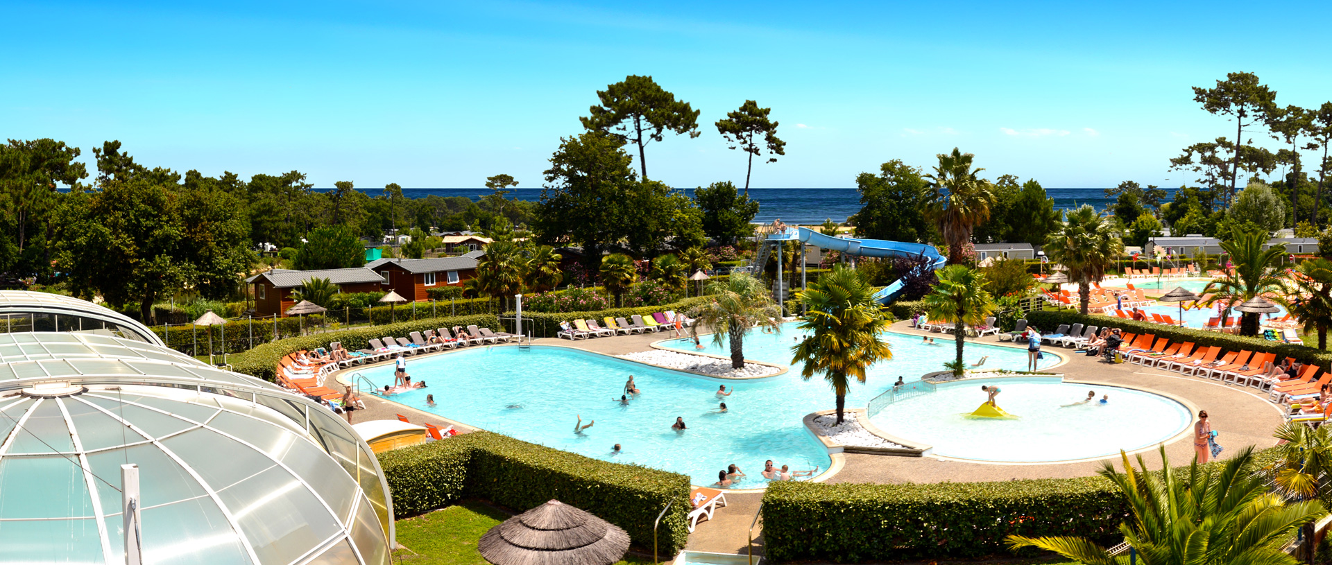 Camping les viviers - Camping arcachon piscine ...
