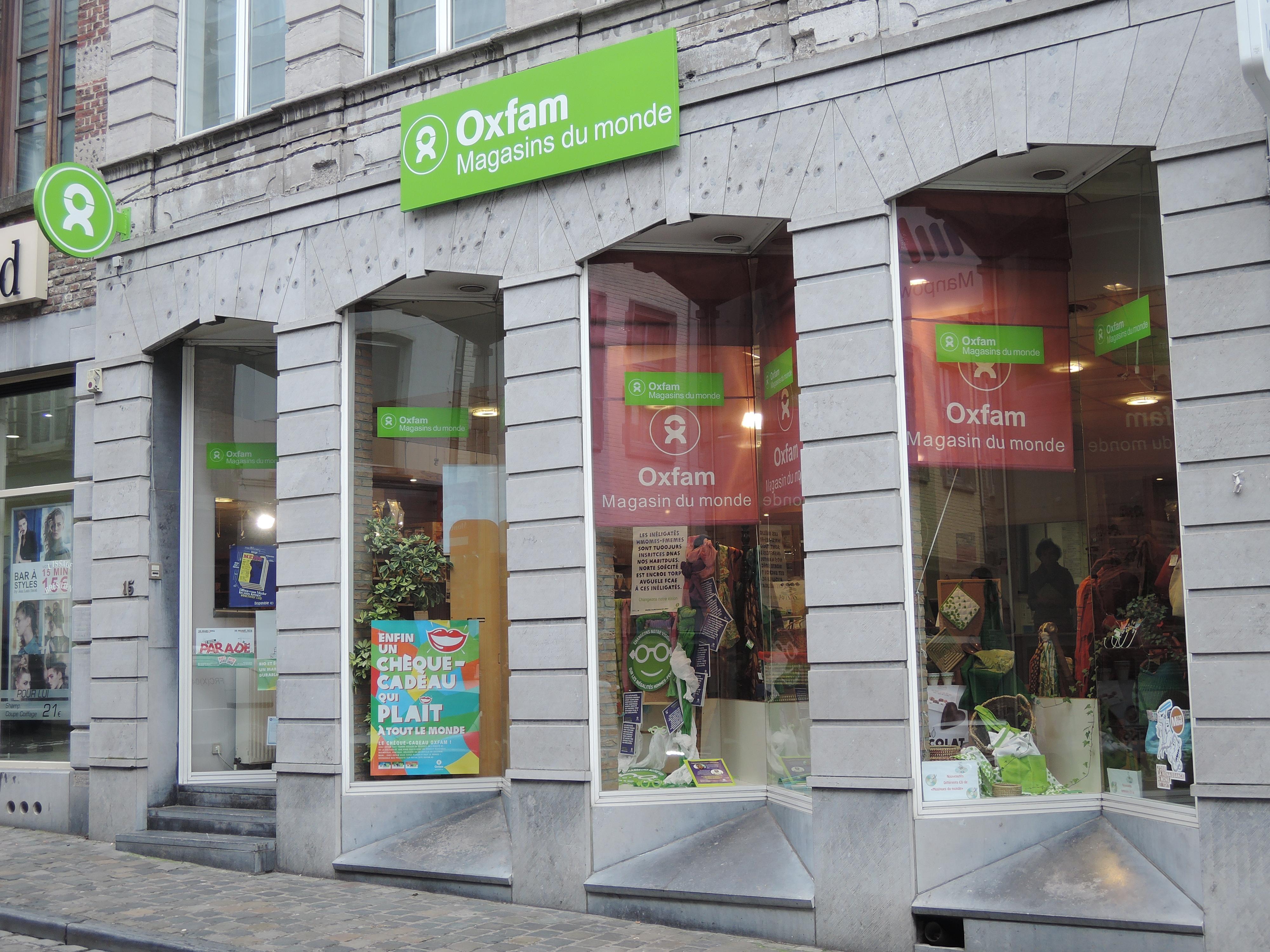 oxfam mons visitmons portail touristique officiel de la r gion de mons. Black Bedroom Furniture Sets. Home Design Ideas