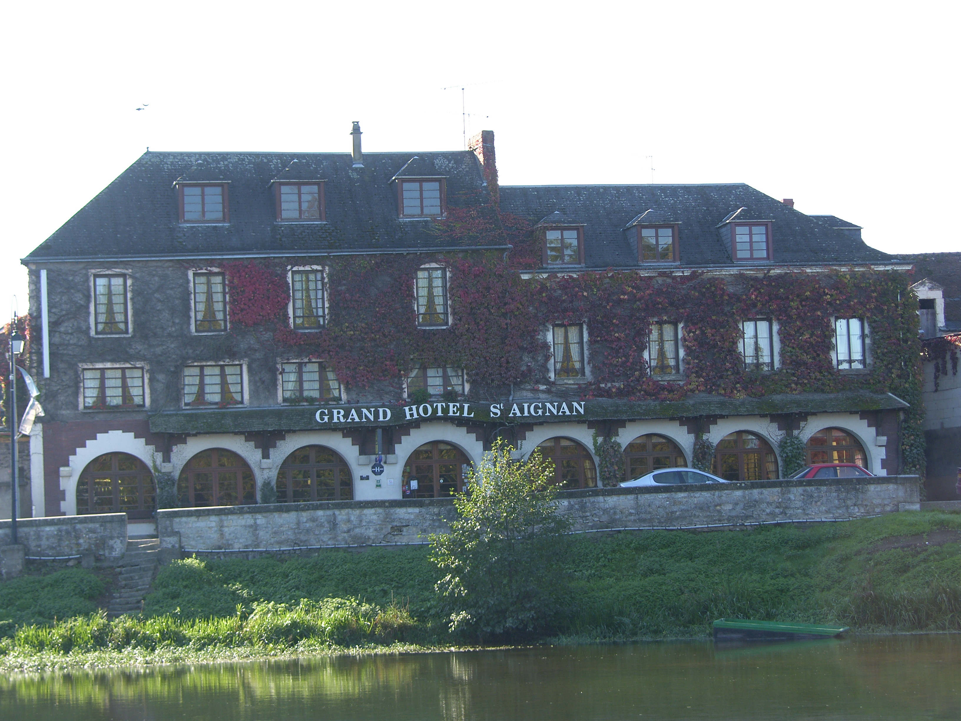 Aux environs de Chenonceau