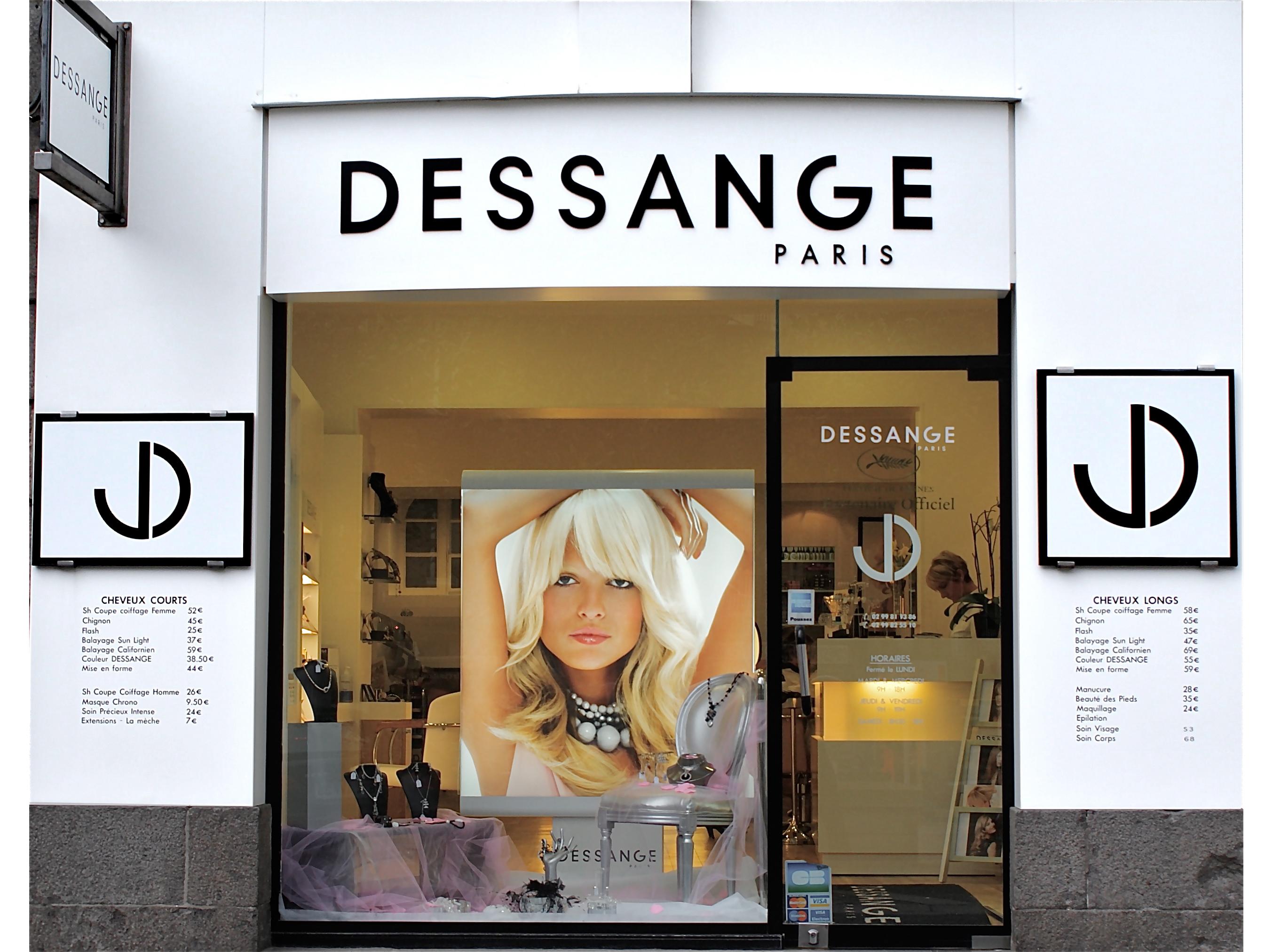 Dessange coiffeur for Dessange salon de coiffure